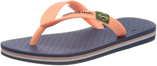 Ipanema Unisex Classic Brasil II Kids Zehentrenner, 9268 Blue/pink Starck, 37 EU