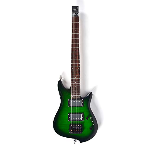 Asmuse Guitarra Eléctrica sin Cabeza, Guitarra LEAF pequeñ