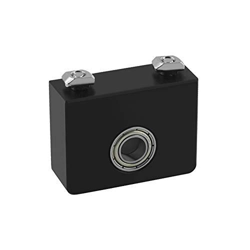 WINSINN Soporte superior de tornillo de plomo de eje Z, funciona con Creality CR-10 / CR-10S Ender 3 / Pro – Soporte de metal de aluminio para rodamientos de barra Z