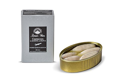RAMON PEÑA - chipirones en aceite de oliva 4/6 OL120 pack 3 unidades