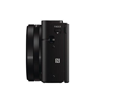 Sony RX100 III | Premium-Kompaktkamera (1,0-Typ-Sensor, 24-70 mm F1.8-2.8 Zeiss-Objektiv und neigbares Display für Vlogging) & NP-BX1 Li-Ion Akku (Typ X, 3,6V, 1240mAh) für Cyber-Shot