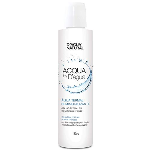 Acqua By D'agua Água Termal Remineralizante, D'AGUA NATURAL, 190mL