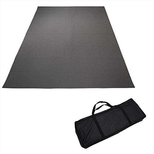 5.25'x6.5' Drum Rug Carpet Mat Non Slip by Trademark Innovations