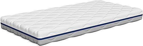 Tecnocolchón - | Colchón de Cuna Lavable Air Clean | 120 x 60 cm y Altura 11 cm | Funda Desinfectable a 60°C | Reversible Verano e Invierno | Transpirable | Certificados Oeko-Tex y CertiPUR