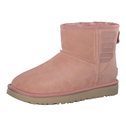 UGG Damen Classic Mini Rubber Logo Stiefel, La Sunset, 36 EU