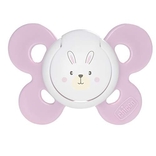 Chicco Physio Comfort - Chupete de silicona para 0 - 6 meses, color rosa