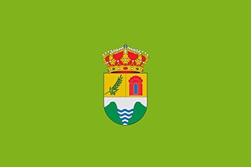 magFlags Bandera Large Municipio de Valdilecha Comunidad de Madrid | Bandera Paisaje | 1.35m² | 90x150cm