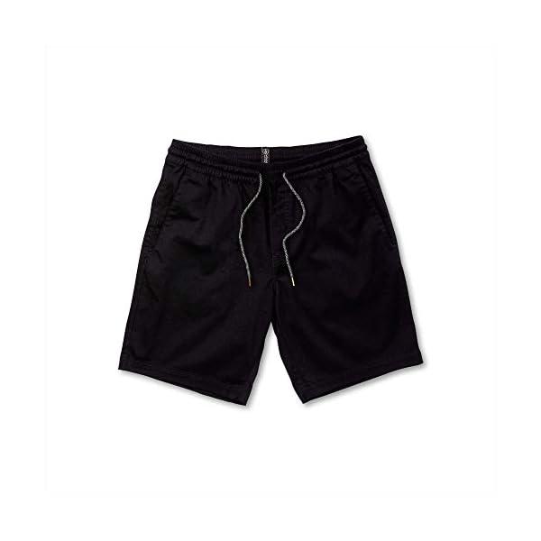 Volcom Men's Frickin Elastic Waist 19″ Chino Short