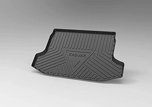Voiture Tapis De Coffre pour Renault KADJAR 2015-2019, ImperméAble AntidéRapant RéSistant Rayures Tapis De Coffre Protetion, IntéRieur Accessoires