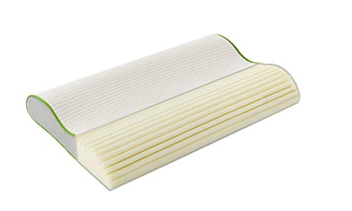 Träumeland T065101 Kinderkissen Premium - atmungsaktives und mitwachsendes Kissen für gleichmäßige Druckverteilung und optimale Unterstützung der Halswirbelsäule, mehrfarbig