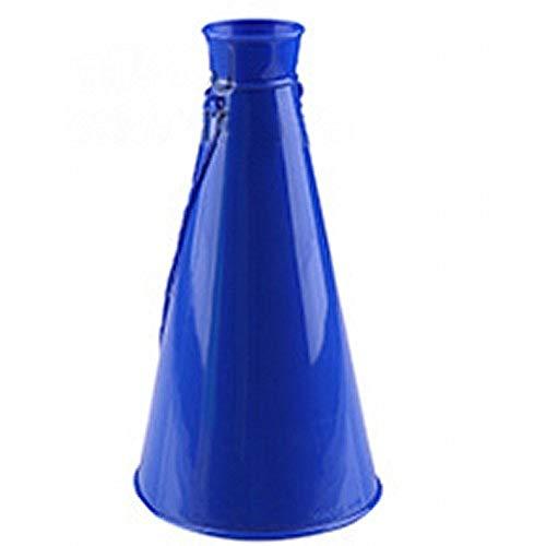 リタプロショップRミニサイズ メガホン 23cm 野球 スポーツ 運動会 応援 コンパクト メガフォン プラスチック製 (ブルー)