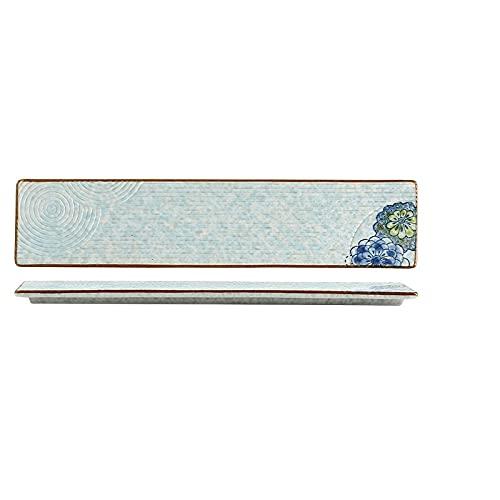 GYHJG Long Sushi Plate, Ceramic Plate, Western Food Plate, Sashimi Plate, Dessert Plate, Placing Plate