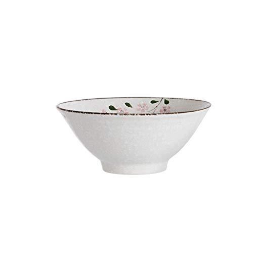 Thuis grote pols keramische kom Vintage Cherry Blossom Snack Dessert Gedroogd fruit lade Fruit Salade Vaatwasser 17.8x7.5cm Decoratieve Hotel Retro Soep Bowl