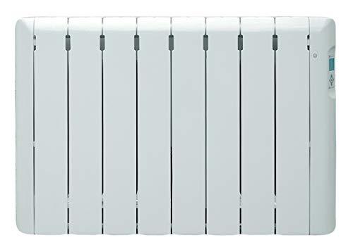 Haverland RC8ECO | Emisor Térmico a Fluido Programable | 1000 W | Detector de Presencia | Termostato Digital LCD | Función ECO | Uso Ideal 1-6h/día | +/- 11-15 m² | Blanco