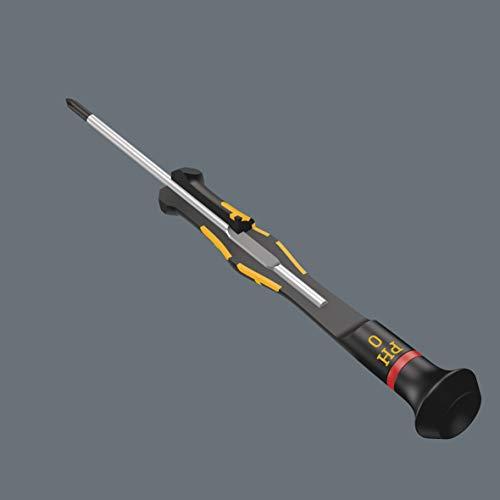 Wera 05030110001 1550 PH Kraftform Micro Screwdriver for Phillips Screws, PH 00 mm x 60 mm