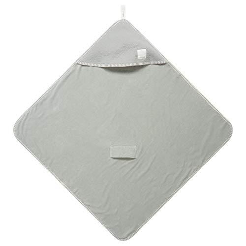 Koeka Baby Omslagdoek - Wikkeldoek - Voor Autostoel - Voor Wipstoeltje - Voor Onderweg - Runa - Jersey Jacquard - Gevoerd Met Stretch Badstof - Wasbaar - Leaf - One Size