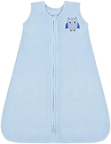 TILLYOU All Season Micro Fleece Baby Sleep Bag and Sack with Inverted Zipper Clothes for Baby product image
