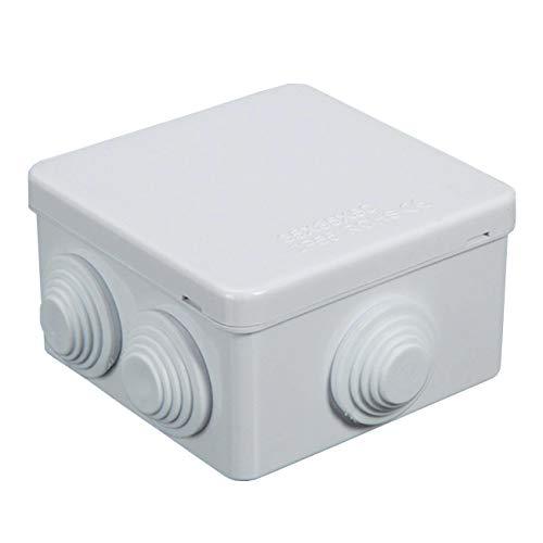 Sunnyglade IP55 ABS Plastic Waterproof Dustproof Junction Box Universal Durable Electrical Project Enclosure(3.4 x3.4 x2 )