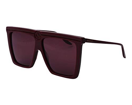 Gucci GG-0733-S 003 - Gafas de sol, color rojo y rojo