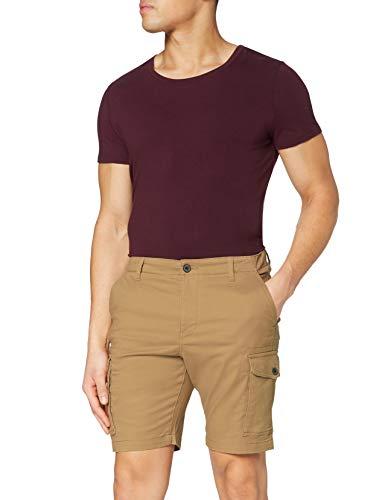 MERAKI Amazon-Marke: MERAKI Herren Cargo Shorts, Beige (Beige), 2XL