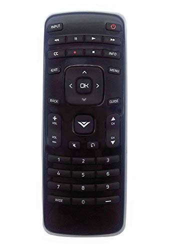 New XRT010 Remote Replacement fit for VIZIO TV E320-A0 E241-A1 E290-A1 E390-A1 E320-A1 E420-A0 E470-A0 E420VSE E390VL E471VLE E240AR E320AR E420AR E500AR E291-A1 D39h-C0 E390-A1 D43-C1 E420-B1