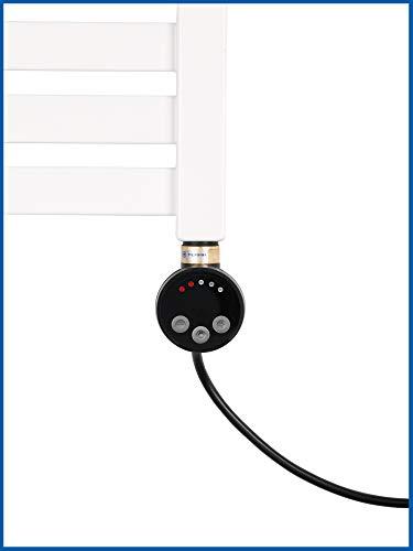 Thermostat Heizstab, Heizpatrone, Heizelement Modell MEG 600 Watt (Schwarz)