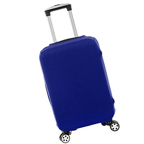 New_Soul Kofferhülle Kofferschutzhülle Elastisch Luggage Cover Gepäck Cover Reisekoffer Hülle (Blau, M)