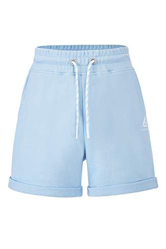 Extreme Pop Pantalones Cortos para Mujer Chica para Correr Deportivos para Yoga (L, Cielo Azul)
