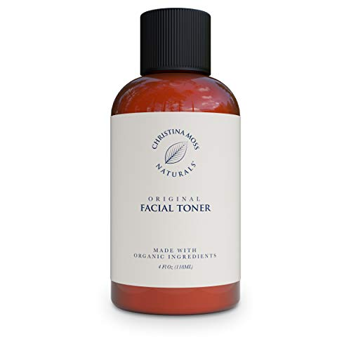 Facial Toner - Face Toner Made With Organic Aloe, Witch Hazel & Other Skin Restoring Ingredients - Hydrates, Refines & Restores pH – Reduces Redness &...