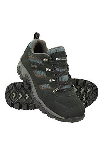 Mountain Warehouse Voyage Wasserfeste Schuhe für Herren - Leicht, schnelltrocknend, Wanderstiefel, Eva-Zwischensohle, Netzstoff, Laufschuhe, Laufsohle Gummi - Für Reisen Schwarz 46
