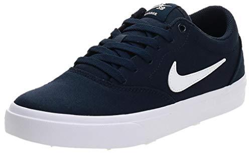 Nike SB Charge Cnvs, Scarpe da Ginnastica Unisex-Adulto, Blu (Obsidian/White), 36 EU