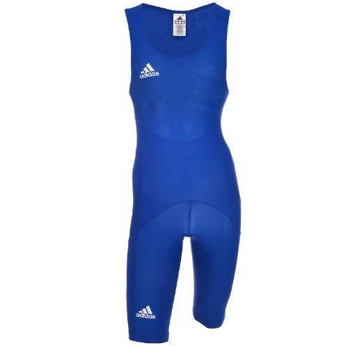Adidas WR CL M Wrestling Suit Singlet Rigertricot Ringen Ringerpak Heren blauw