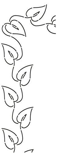 Quilting Creations Ivy Leaf Quilt Stencil, 3'