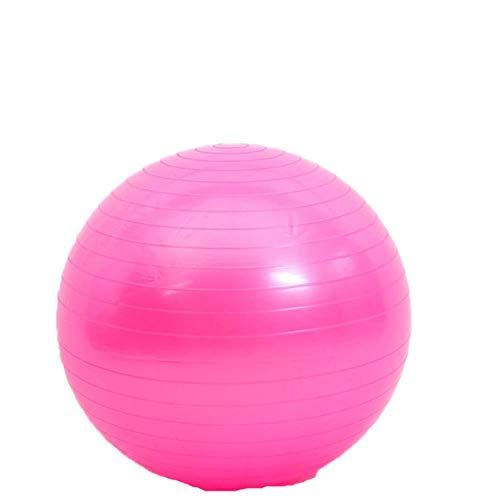 WPOS Yoga Ball Fitnessball Gymnastikball 25 cm Balance Yoga Fitnessball Kinder Frauen Yoga Ball, Pink