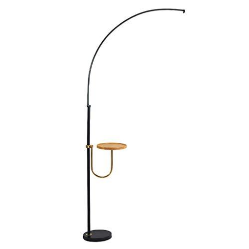 GLXLSBZ Lámpara de pie Moderna con lámpara de pie de Lectura de Mesa Lámpara de luz Diurna de luz Blanca 6000K para Dormitorio, Sala de Estar u Oficina
