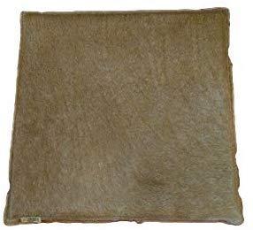 Zerimar Cojin de Piel de Vaca Premium | Medidas: 35x35 cm | Cojin de Piel | Cojines con Relleno Incluido | Cojines Decorativos