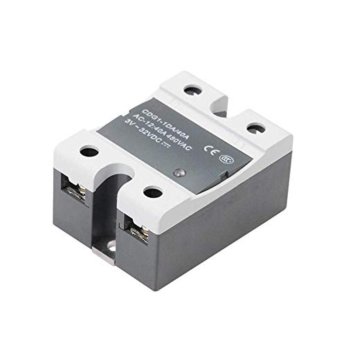 CKQ-KQ 3D Printer Parts Single-Phase Contactless Solid State Relais for Verwarmd Bed 3D Printer Parts