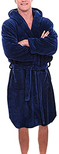 Dresses Men's Bathrobes Flannel Couple Men Women Plush Shawl Kimono Warm Male...