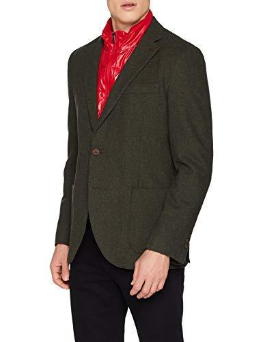 El Ganso Lana Espiga con Vistas Artextil Americana, Verde (Verde 4), 58 (Tamaño del Fabricante:58) para Hombre
