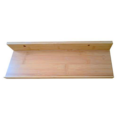 (39,3 Zoll x 4,7 Zoll) schwimmendes Wandregal, platzsparend, geeignet für Küche, Schlafzimmer, Wohnzimmer usw. Erhältlich in 2 Farben und Mehreren Größen