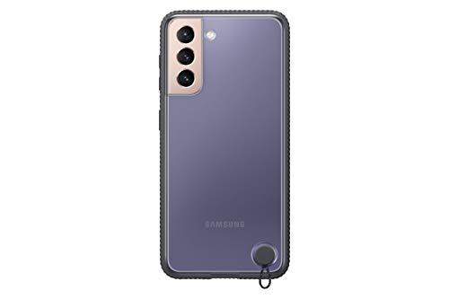 Samsung Clear Protective Cover EF-GG991 für Galaxy S21 5G, Black - 6.2 Zoll