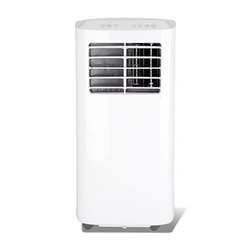 BMOT 3 en 1 Aire Acondicionado Portátil, 7000BTU, Bajo Consumo,Ventila y Deshumidifica, Ventila y Deshumidifica, Mando a Distancia, Kit Ventana Incluido[Clase de eficiencia energética A]