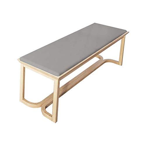 YINN - Cojín para banco de espuma de 5 cm de grosor, antideslizante y con velcro, cojín de asiento para hamaca, sofá de jardín, cojín para palés, sin silla