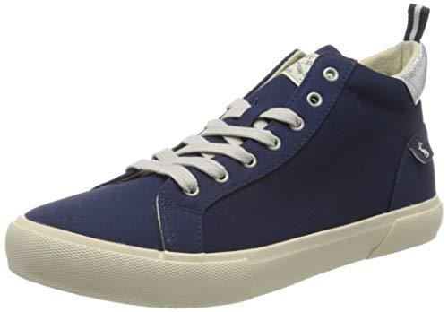 Joules Damen Coast Pump Mid Hohe Sneaker, Blau (French Navy Frnavy), 40 EU
