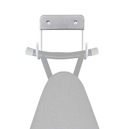 Bügelbrett Halter,AIEVE Bügelbrett Halterung Wandhalter Wandhalterung Bügeltisch Halterung Wandaufhängung für Verschiedene Bügeltisch Bügelbrett Weiß