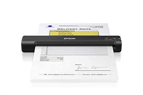 Epson Workforce ES-50 Portable Sheet-fed Document Scanner for PC and Mac (Renewed)