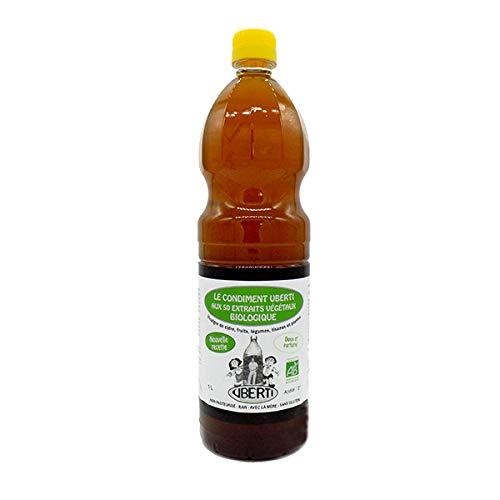 UBERTI - Vinaigre De Cidre Aux 50 Extraits Végétaux X 1L - Lot De 3