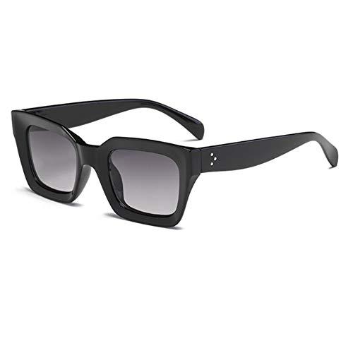 BYCSD retro klein montuur dames zonnebril trend persoonlijkheid zonnebril UV400-bescherming 1