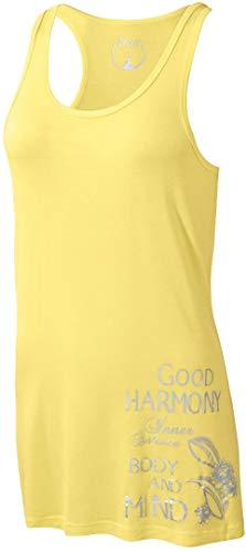 Golden Lutz - Damen Yoga-Top, ärmellos (Gr. S 36/38, gelb) | CRIVIT