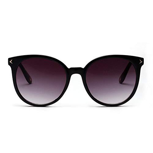 Gafas De Sol Hombre Mujeres Ciclismo Gafas De Sol Redondas Sombras Mujeres Gafas De Sol Señoras Vintage Lente De Espejo Gradient Eyewear-C3